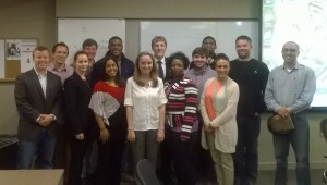 With my Marketing in a Digital Environment class after their digital marketing trend assessment presentations.